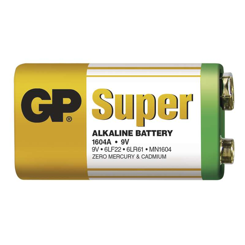 Batéria GP super alkalická 9V blok (1ks)
