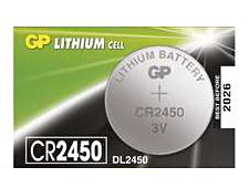 Batéria GP líthiová gombíková CR2450 (1ks)