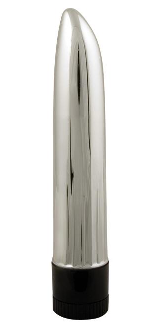 Lady Finger Mini Vibrator Silver
