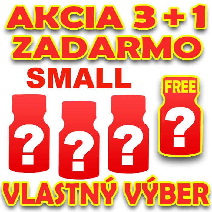 AKCIA 3+1 POPPERS SMALL VLASTNÝ VÝBER (2)