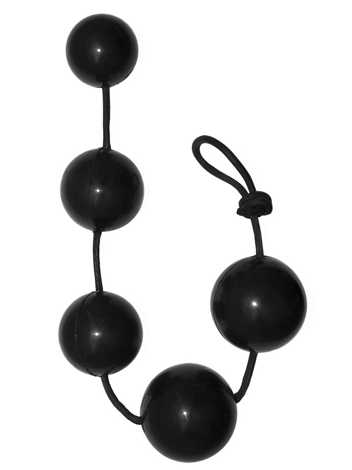 Rubber Anal Balls Large