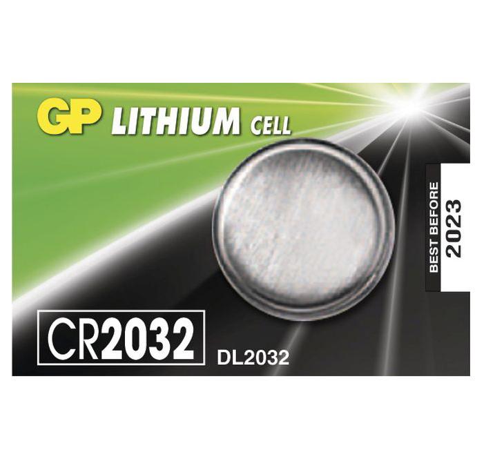 Batéria GP líthiová gombíková CR2032 (1ks)