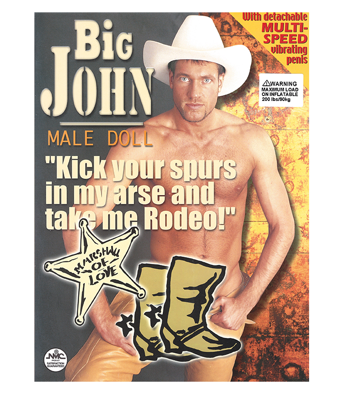 Big John Inflatable Doll With Penis