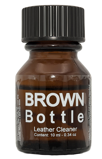 BROWN BOTTLE LEATHER CLEANER (10ml)