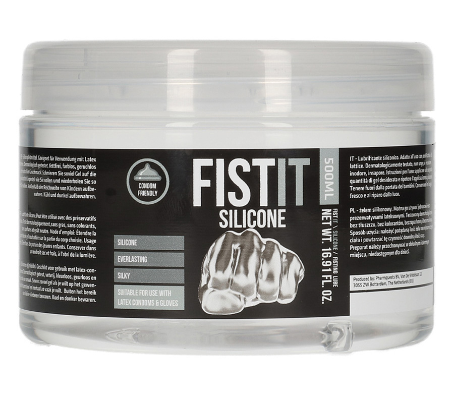 FistIt Silicone Base Lubricant (500ml)