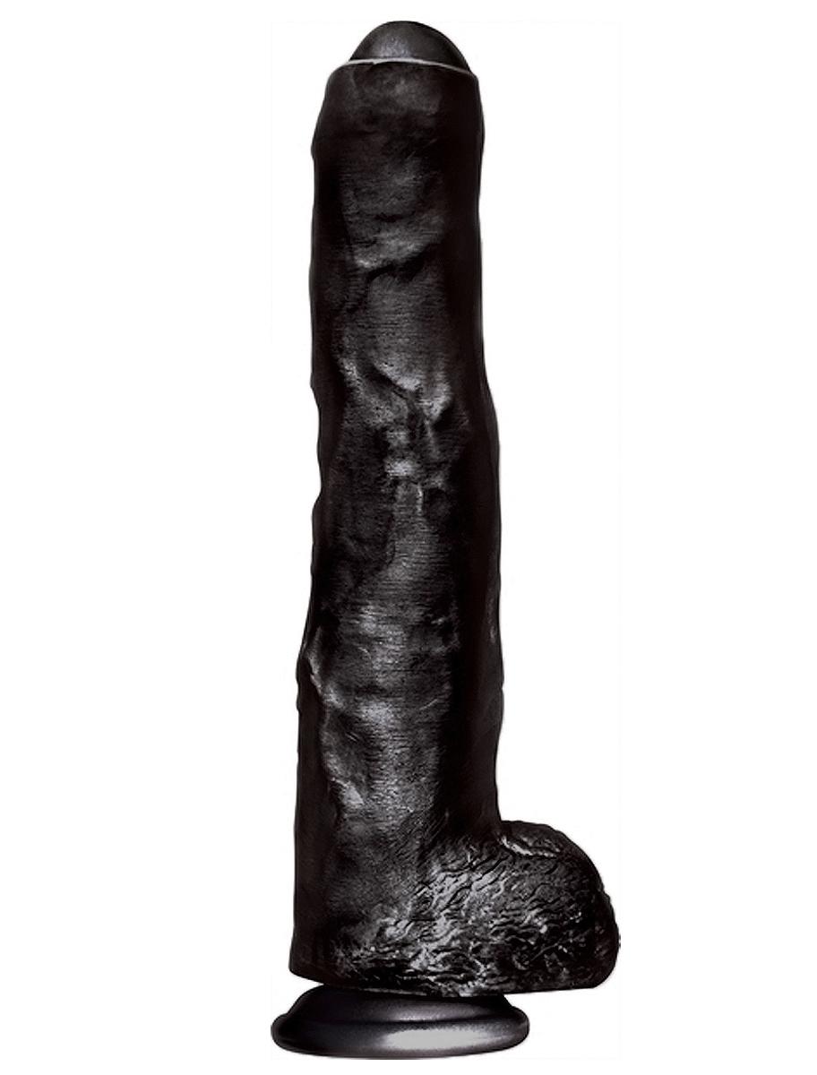 Big Black Cock Uncut and Uncensored (34cm)