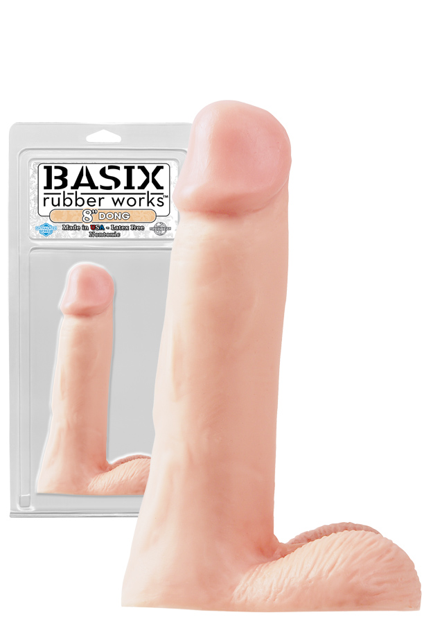 Basix 8 inch Dong Flesh