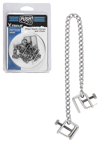 Press Nipple Clamps With Chain