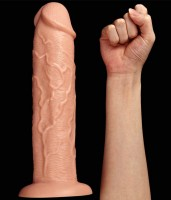 Realistic Long Dildo Flesh Image 8
