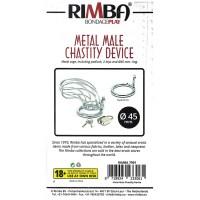 Chastity With Padlock Metal Image 3