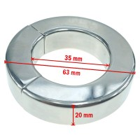 Extreme Magnetic Ball Stretcher (35/20mm) Image 2