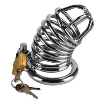 Metal Chastity Cage Image 0