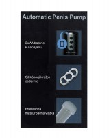 Masturbating Automatic Penis Pump Image 3