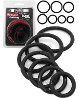 Rubber Cockring 7 Ring Set Image 3