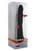 Classic Slim Vibrator Black Image 1