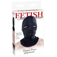 Zipper Face Hood Image 3