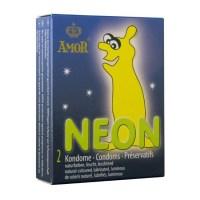 AMOR Neon Condom (2ks) Image 0