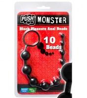 Pleasure Anal Beads Black Image 1