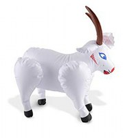 Blow Up Billy Goat Image 1