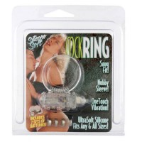 Cockring silicon vibrating clear Image 1