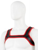 Pupplay Neoprene Harness Black-Red Image 2
