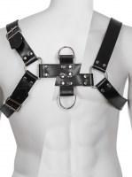 Genuine Leather BDSM Top Harness Black Image 1