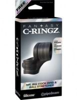 Fantasy C-Ringz - Mr. Big Cock Ring and Ball Black Image 6