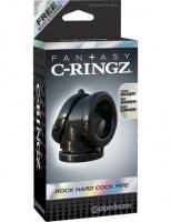 Fantasy C-Ringz - Rock Hard Cock Pipe Black Image 5