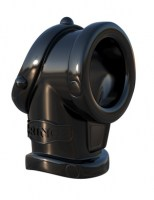 Fantasy C-Ringz - Cock Pipe with Ball Stretcher Black Image 0