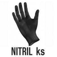 Rukavice NITRIL čierne Image 0
