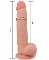 Sliding Skin Dual Layer Dong (25cm) Image 2