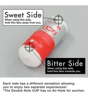Double Hole Cup Masturbator Image 2