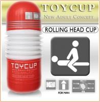 Rolling Head Cup Masturbator Image 1