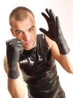 Gumené rukavice wrist Image 2