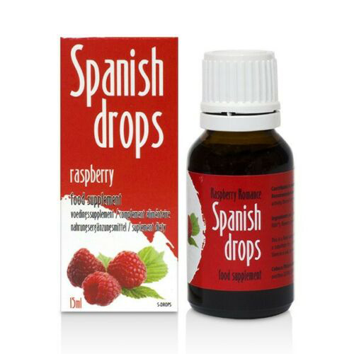 Spanish drops Raspberry Romance (15ml)