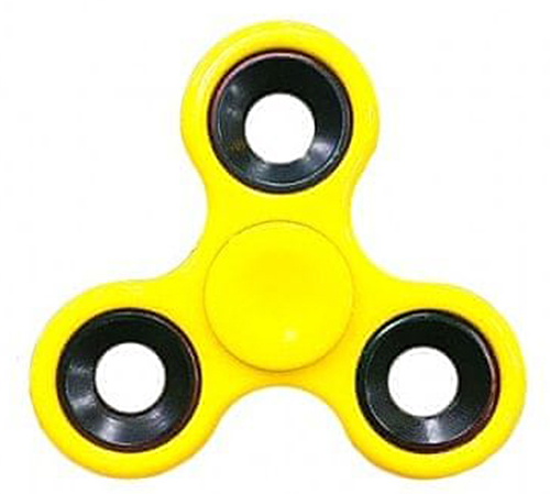 Spinner Hand Basic Yellow
