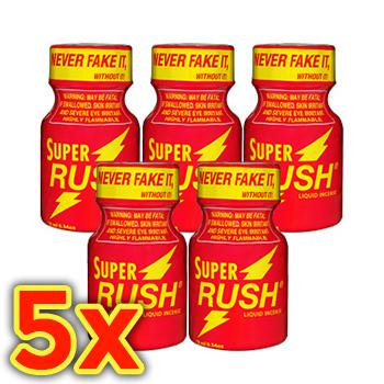 SUPER RUSH BALÍČEK (10ml x 5ks)