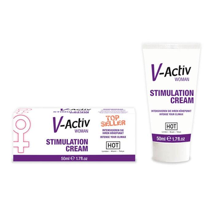 V-Activ STIMULATION CREAM for WOMEN (50ml)