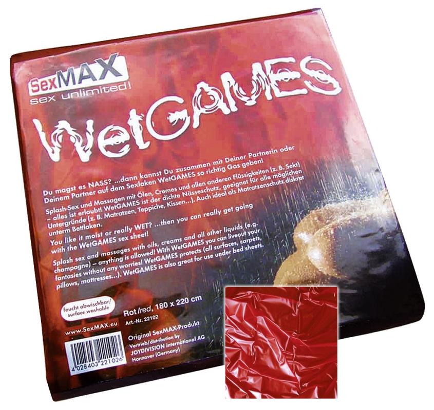 WetGames Sex-Laken Red (180x220cm)